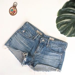 Adriano Goldschmeid The Bonnie Cut Off Jean Shorts